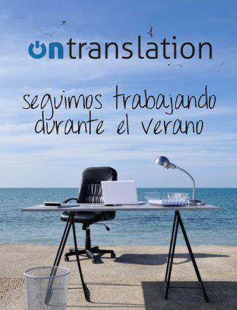 ontranslation vacaciones
