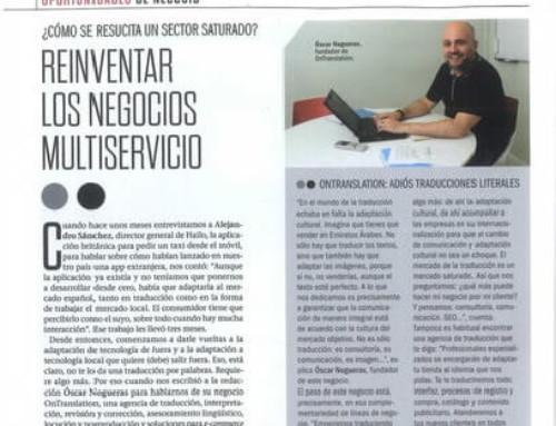 Emprendedores entrevista Oscar Nogueras, CEO d'Ontranslation
